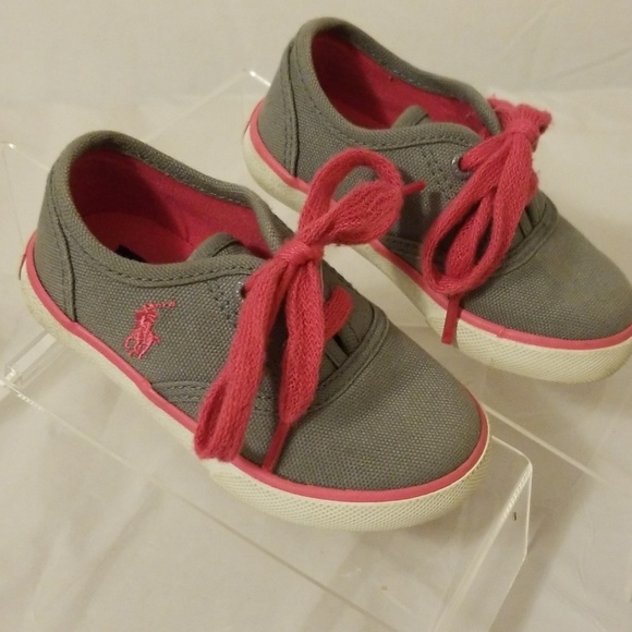 032afe4f Polo Ralph Lauren Child/Toddler canvas shoes sz 5